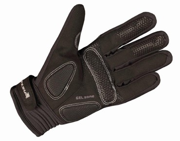LUMINITE winter gloves black