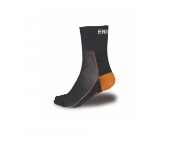 ENDURA BAA BAA merino winter socks black