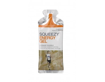 Squeezy gel single sachet à 33 g Orange-Pfirsich