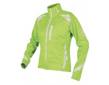 ENDURA LUMINITE II waterproof jacket for women hi-viz green