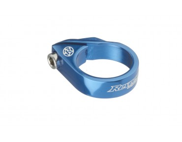 Reverse Bolt Clamp seat post clamp blue