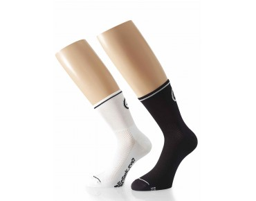 ASSOS Mille_evoS7 twin pack of socks white
