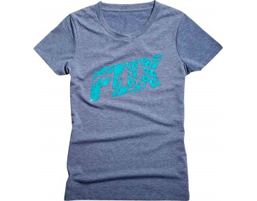 FOX BONNIE TECH TEE women's t-shirt heather graphite