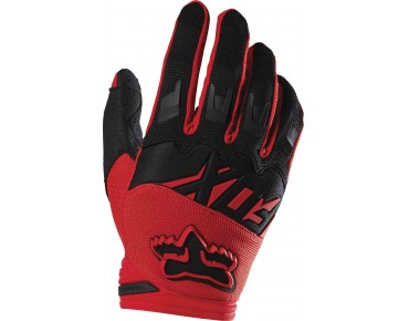 FOX DIRTPAW RACE Handschuhe red/black