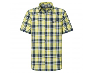 Jack Wolfskin SAINT ELMOS MEN Shirt evening blue checks