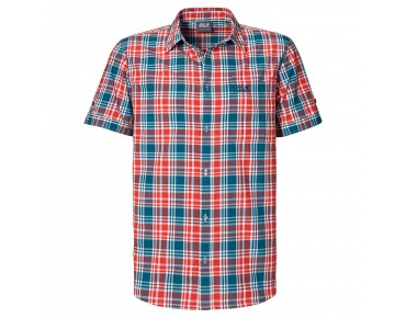 Jack Wolfskin SAINT ELMOS MEN Shirt moroccan blue checks