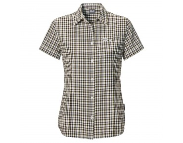 Jack Wolfskin FLAMING VENT SHIRT Women siltstone checks
