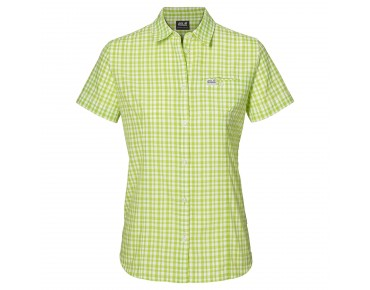 Jack Wolfskin FLAMING VENT SHIRT Women parrot green checks