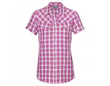 Jack Wolfskin MARA Shirt Women grapevine checks