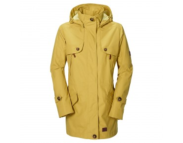 Jack Wolfskin QUEENSTOWN COAT Parka Women yellow moss