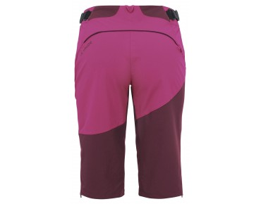 VAUDE MOAB Damen Shorts claret red