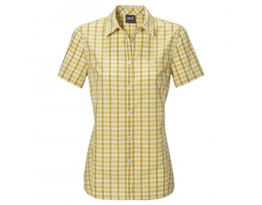 Jack Wolfskin RIVER SHIRT Women lemonade checks