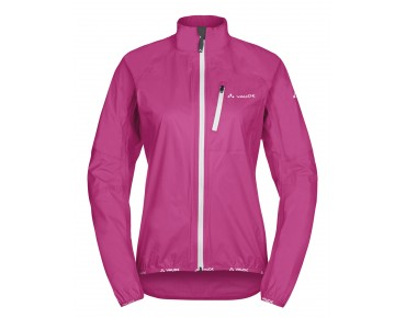 VAUDE DROP JACKET III waterproof jacket for women grenadine