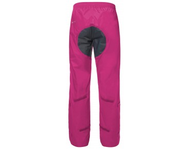 VAUDE DROP PANTS II waterproof trousers for women grenadine