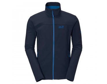Jack Wolfskin ELEMENT SOFTSHELL jacket night  blue