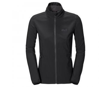 Jack Wolfskin ELEMENT Damen Soft Shell Jacke black