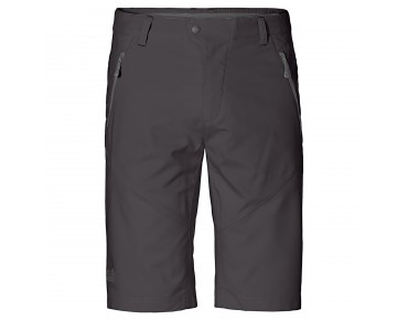 Jack Wolfskin ACTIVE TRACK Shorts dark steel