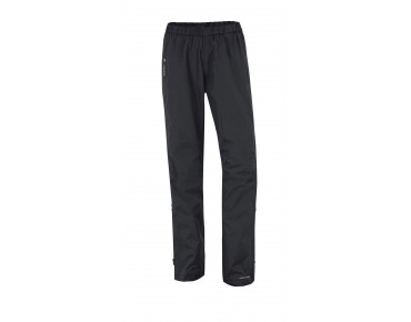 VAUDE FLUID FULL-ZIP PANTS damesregenbroek black