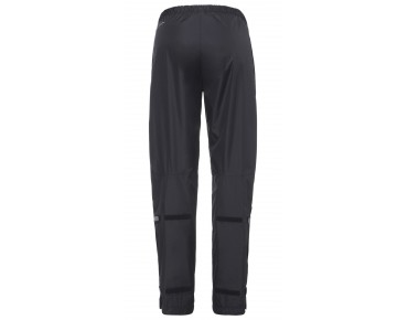 VAUDE FLUID FULL-ZIP PANTS Damen Regenhose black