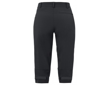 VAUDE YAKI ¾ PANTS women's bike trousers black
