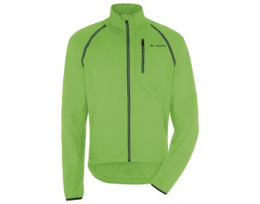 VAUDE WINDOO JACKET zip-off windjack gooseberry