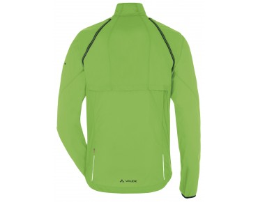 VAUDE WINDOO JACKET zip-off windbreaker gooseberry