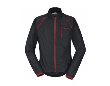 VAUDE WINDOO JACKET zip-off windjack black