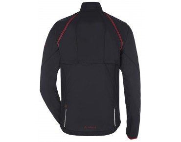 VAUDE WINDOO JACKET zip-off windbreaker black