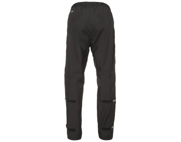 VAUDE FLUID FULL ZIP PANTS II Regenhose black