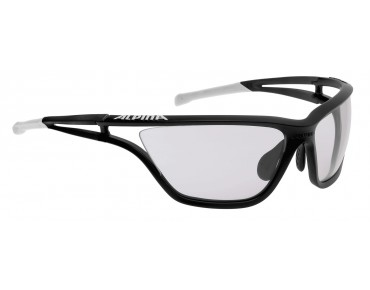 ALPINA EYE 5 VL+ sports glasses black matt-white/varioflex +