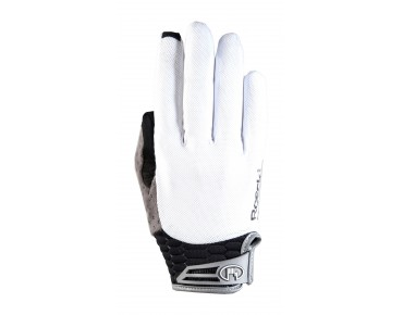ROECKL MELROSE full finger gloves white