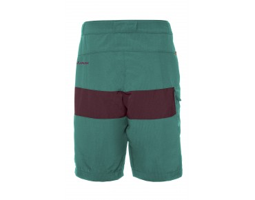 VAUDE GRODY IV kids' bike shorts hydro blue