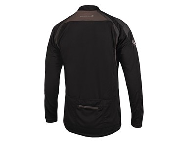 ENDURA HUMMVEE II long-sleeved bike shirt black