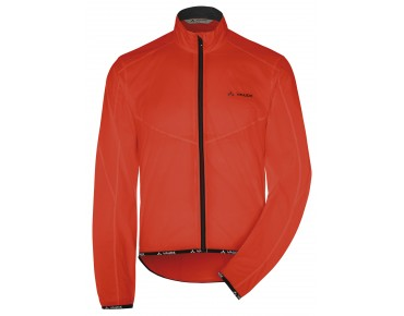 VAUDE AIR JACKET II windbreaker glowing red