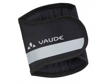 VAUDE CHAIN PROTECTION reflective cuff black