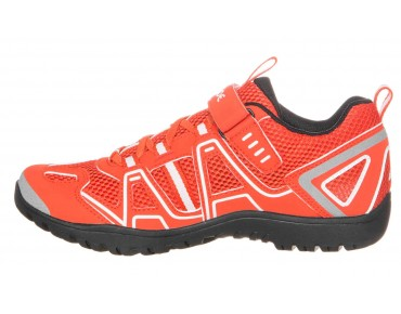 VAUDE YARA TR trekking shoes glowing red