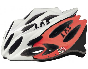 LAS SQUALO LIGHT Rennradhelm red/white/black