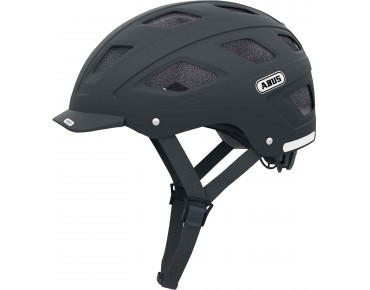 ABUS HYBAN city helmet velvet black