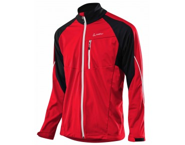 Löffler WINDSTOPPER SOFT SHELL LIGHT bike jacket red
