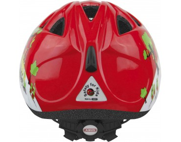 ABUS SMILEY kids' helmet croco fire