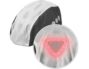 ABUS TOPLIGHT waterproof helmet cover black