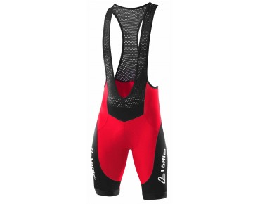 Löffler WINNER bib shorts red