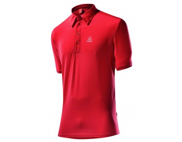 Löffler TENCEL polo neck shirt rot