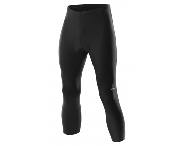 Löffler 3/4-length cycling tights black