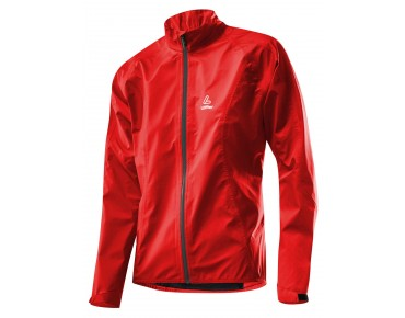 Löffler WPM-3 ladies rainproof jacket red