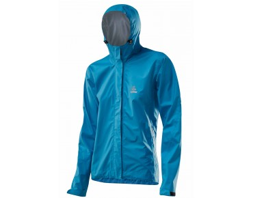 Löffler WPM-3 CF ladies rainproof jacket atlantic
