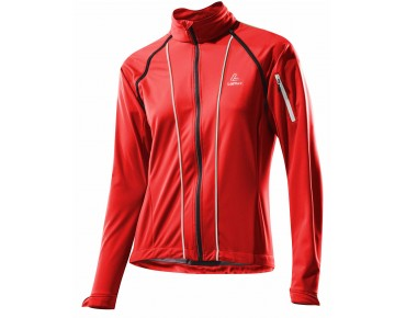 Löffler SAN REMO WS SO LIGHT women's zip-off jacket red