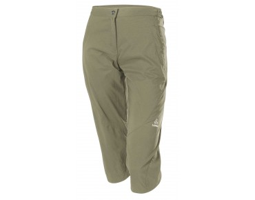 Löffler COMFORT CSL 3/4-length women's cycling trousers sahara