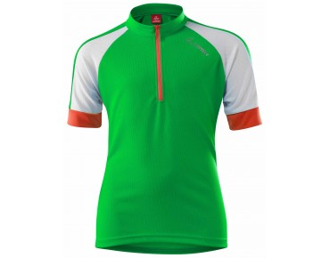 Löffler HZ children's jersey day-glo green