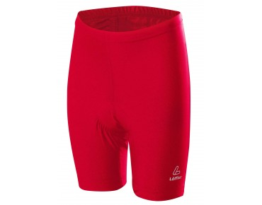 Löffler Children's bike shorts red